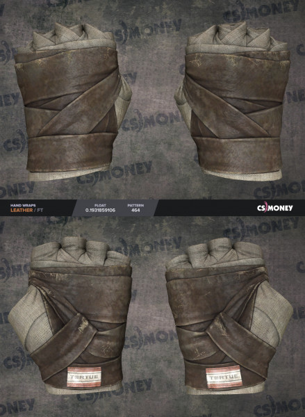 Hand Wraps | Leather (Extraordinary Gloves)
