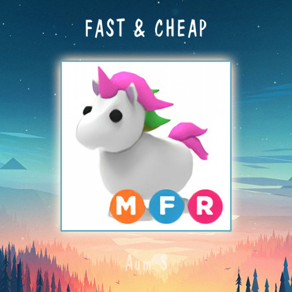 Pet Adopt Me - MFR Unicorn