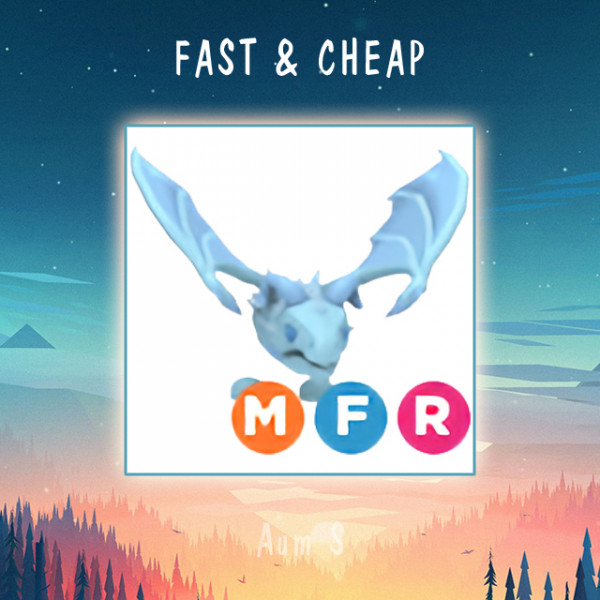 Pet Adopt Me - MFR Frost Dragon
