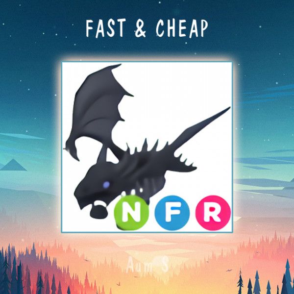 Pet Adopt Me - NFR Shadow Dragon