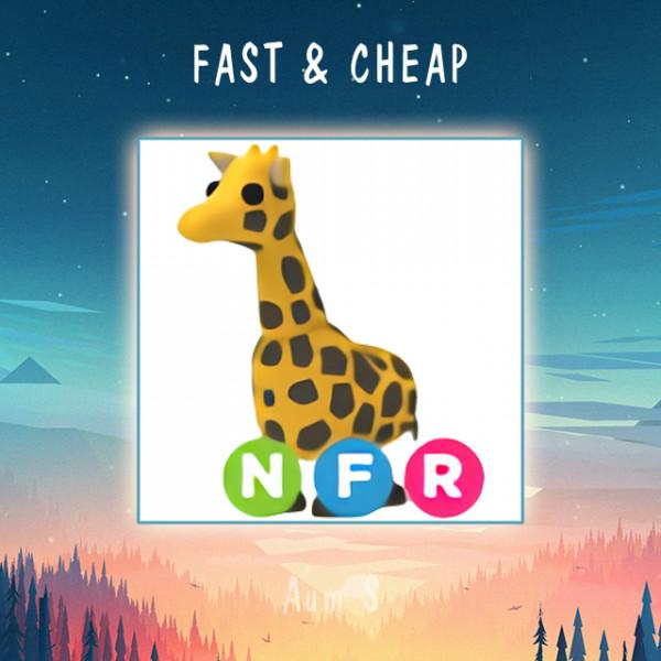 Pet Adopt Me - NFR Giraffe