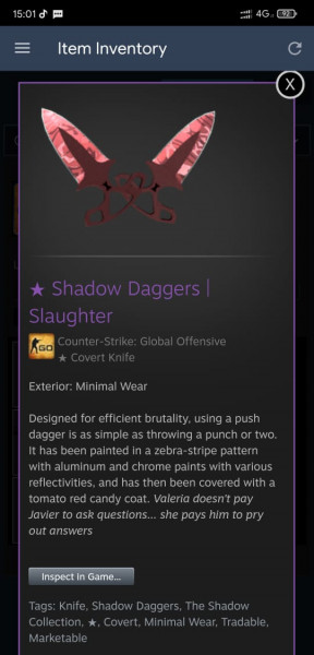 Shadow Daggers Slaughter MW