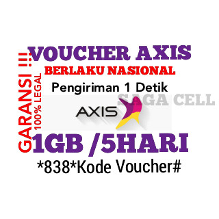 Axis 1GB 5 hari