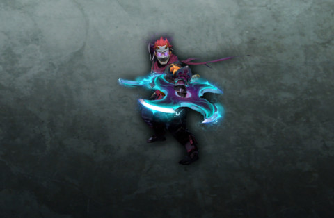 Shadows of the Forgotten Plane (Anti-Mage Set Diretide 2020)