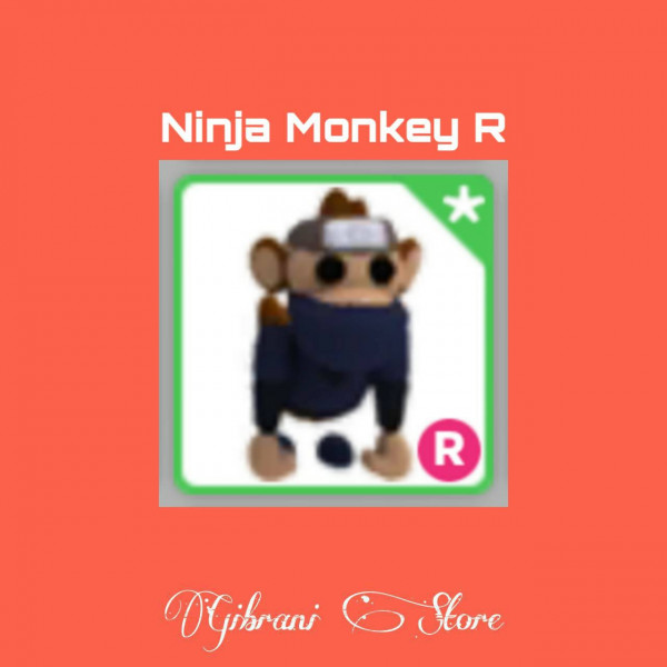 Ninja Monkey R Adopt Me pet