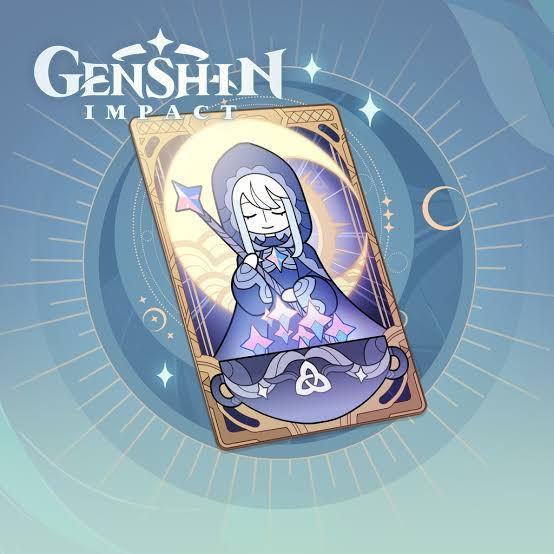 gensin impact moon blessing