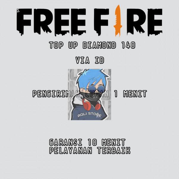 Top Up 140 Diamonds