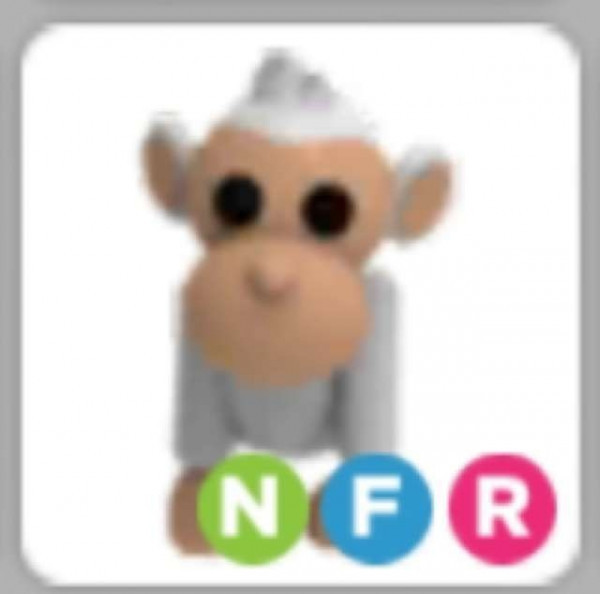 Albino Monkey NFR - Adopt Me