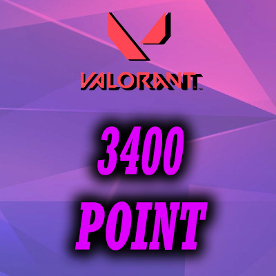 3400 Points