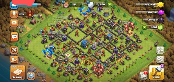 Clash of clan th 12 flash sale