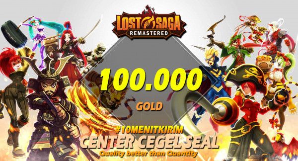 100000 Gold