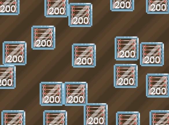200 Laser Grid Blocks