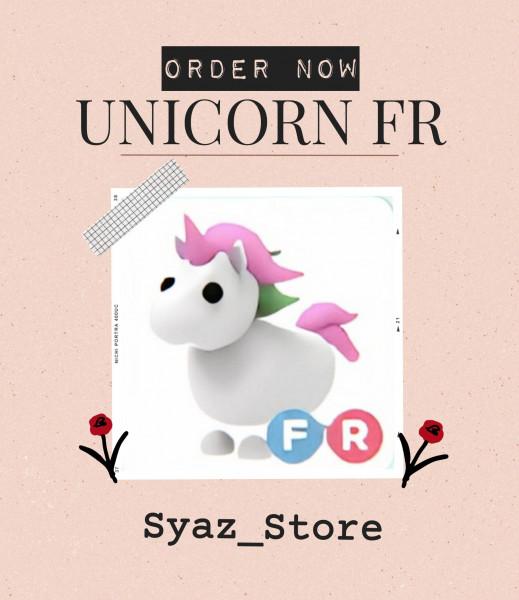 ROBLOX || Adopt Me Pet || Unicorn FR || Legendary
