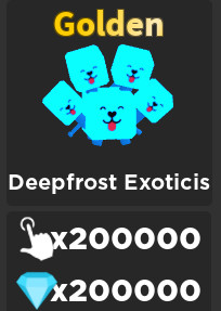 DEEPFROST EXOTICIS | Tapping Mania