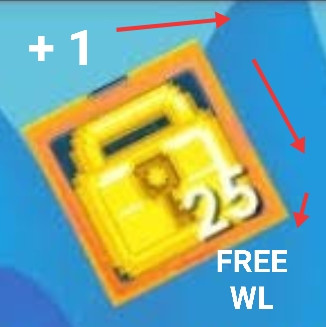 25 WORLD LOCK + 1 FREE WL