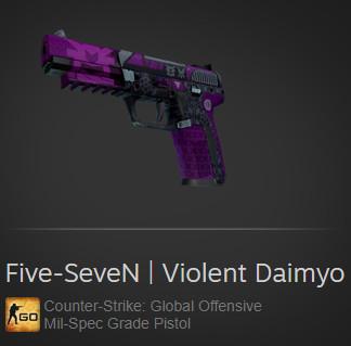 Five-SeveN | Violent Daimyo