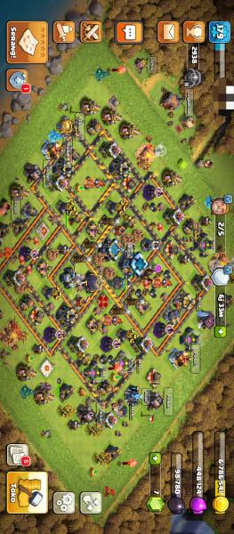 Clash of clan th 13 semi max
