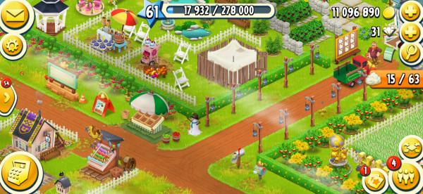 Akun hayday level 20-30