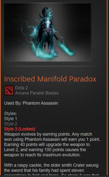 Inscribed Manifold Paradox style 2