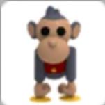 Toy monkey pet Adopt me