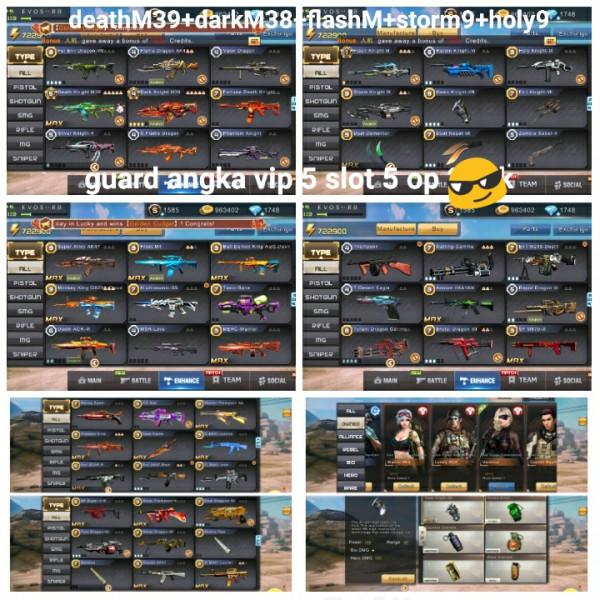 Akun game crisis axtion deathM39+darkM38